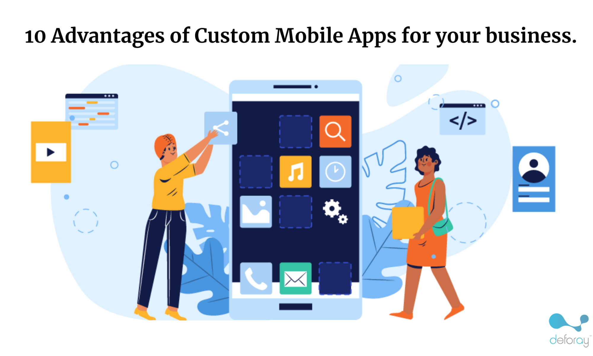 Benefits of Custom Mobile Apps